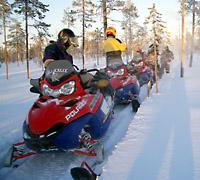 Snowmobile safari, Ruka, Ruka Adventures